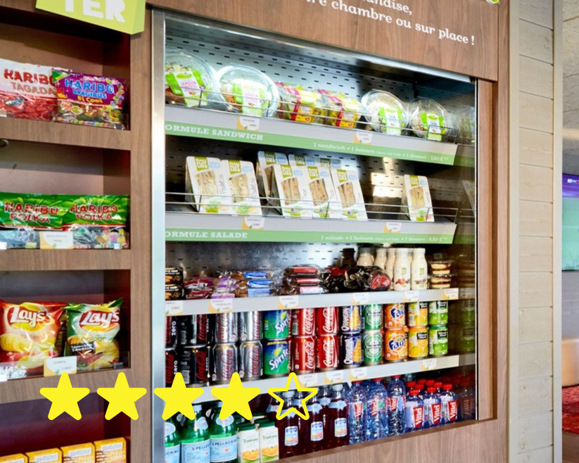 Out of daily specials in the Grab n' Go refrigerator….
